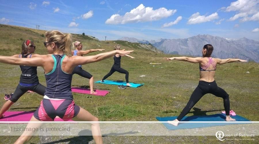 Mountain beach fitness retreat