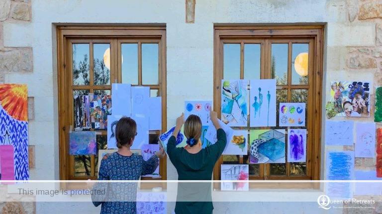 Art Retreat Crete Greece
