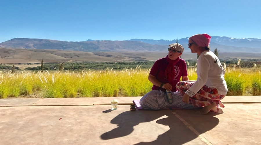 Mindfulness journeys yoga retreat morocco