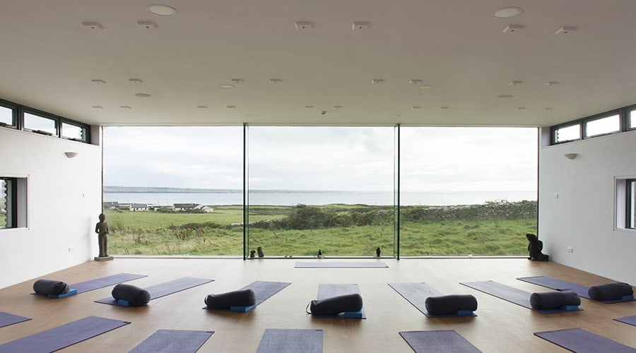 Cliffs of moher yoga