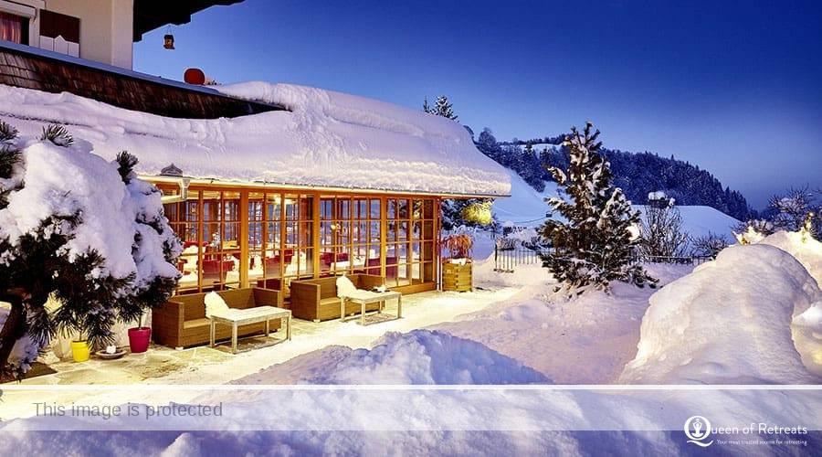 Sonnhof Outside Snow Winter
