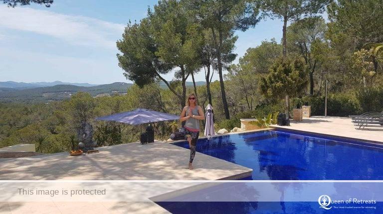 Ibiza retreats queen of retreats