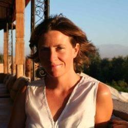 Caroline Sylger Jones at Kasbah Agafay nr Marakkech