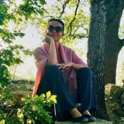 Caroline Sylger Jones on retreat in France