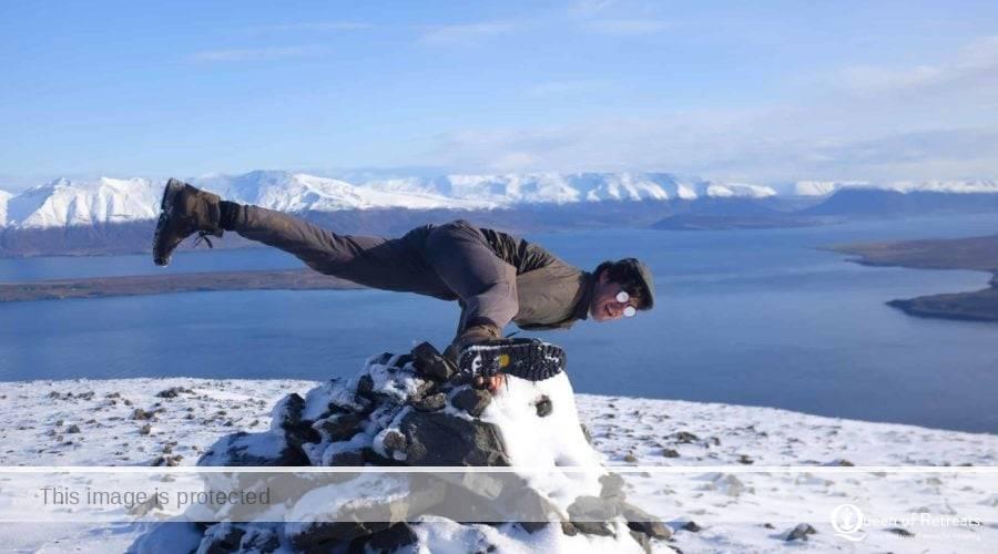 Queen of Retreats Reclaim Your Self Iceland Retreat Yoga Teacher Adam Husler
